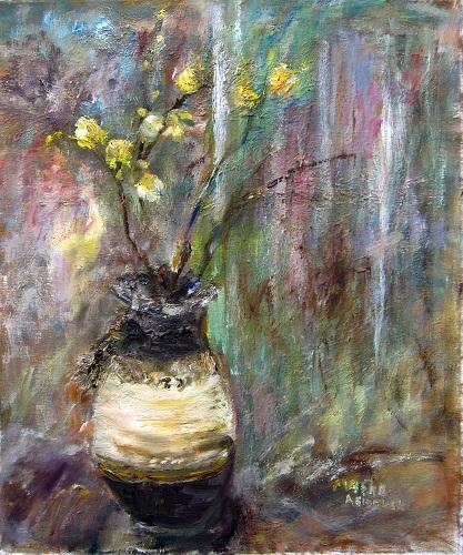 yellow-vase